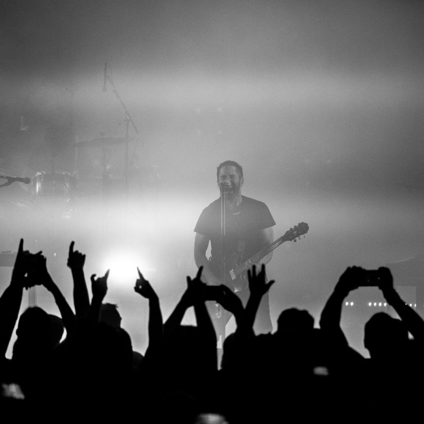 Nine Inch Nails perform iconic track \'The Perfect Drug\' live for the ...